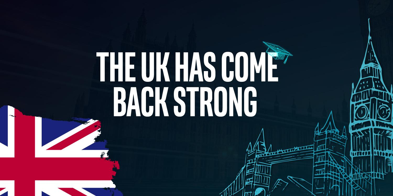 THE UK HAS COME BACK STRONG
